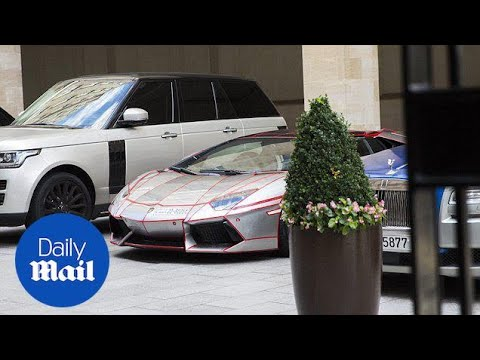 Middle-Eastern owners gather supercars outside luxury London hotel - Daily Mail