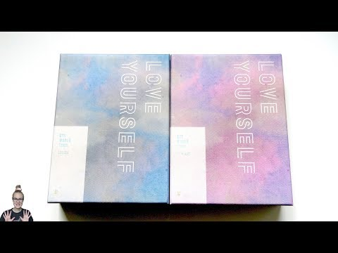 Unboxing BTS 방탄소년단 WORLD TOUR 'LOVE YOURSELF' EUROPE & NEW YORK DVD