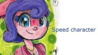 Creando un personaje Zumy   Speed drawing