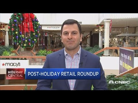 Post-holiday returns a big deal the day after Christmas