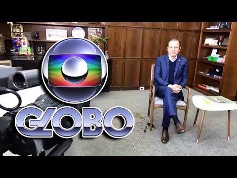 Entrevista do Prefeito de São Paulo, João Doria, para o Bom Dia SP - TV Globo