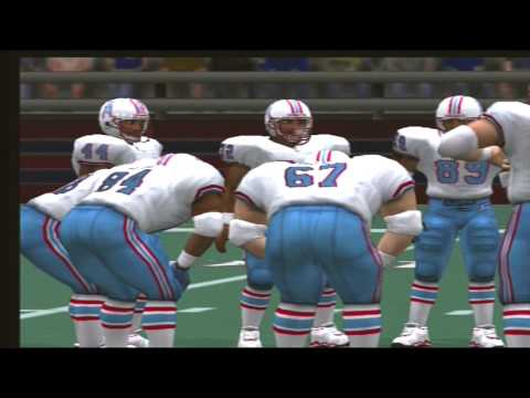Madden NFL 2001 1992 Houston Oilers vs 1992 Buffalo Bills