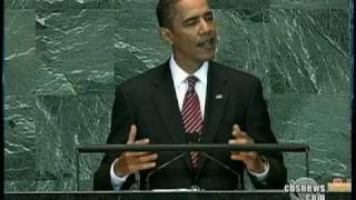 Obama Appeals to World Leaders