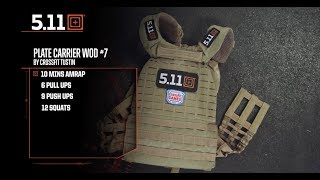 Weight Vest Wednesday Workout of the Day #7 by CrossFit Tustin | 5.11 Tactical