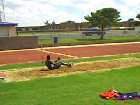 Kyron blaise standing triple jumps