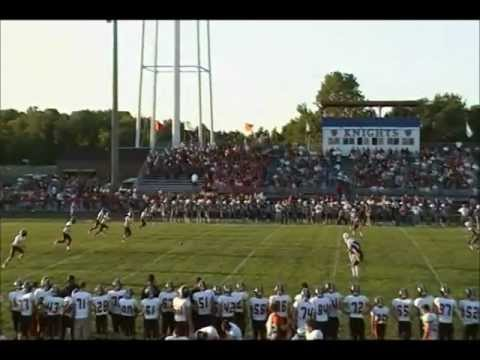 Jake Newman vs South Dearborn 2012