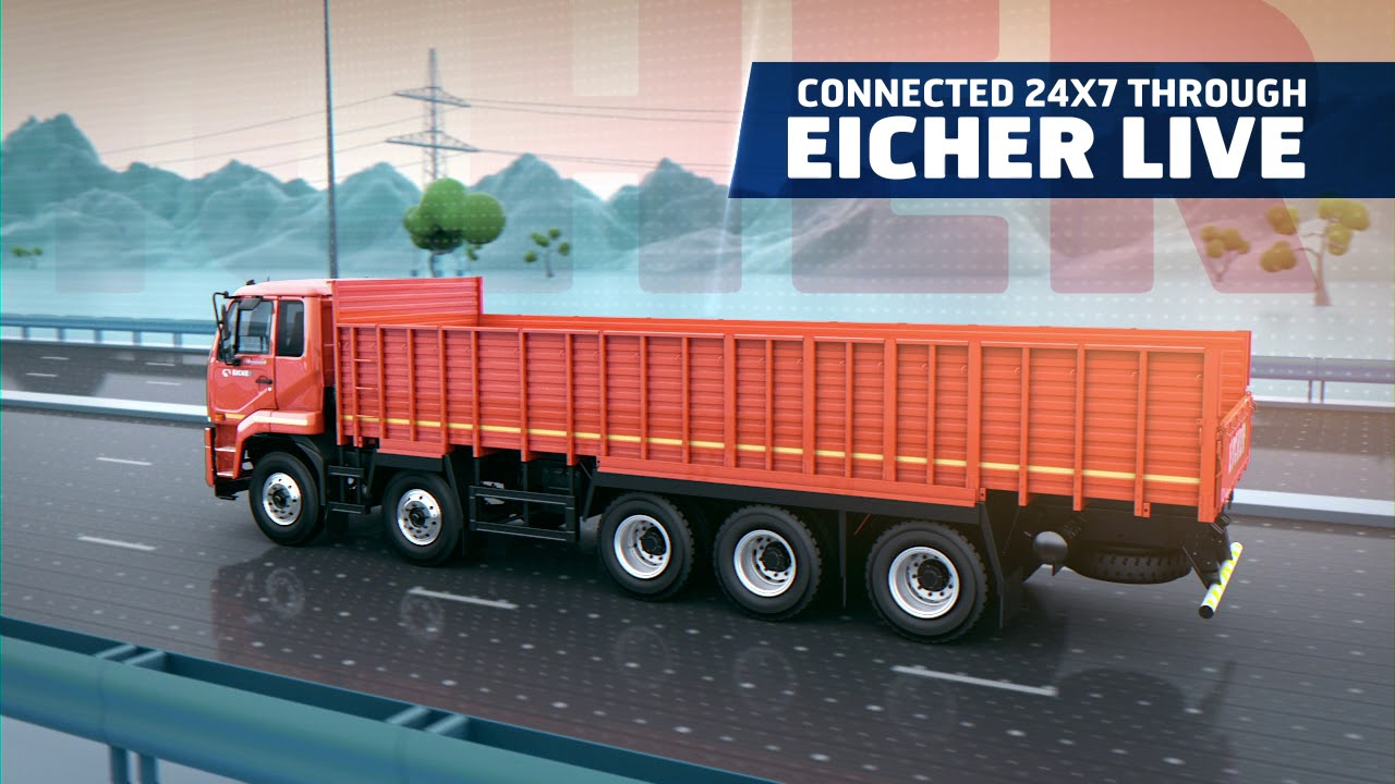 Eicher introduces India's first 41 2 ton truck, Pro 6041