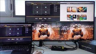 Unboxing Bre4K - 4K Multiviewer HDMI Quad-split for Broadcast, Split-Screen Gaming, Streaming..