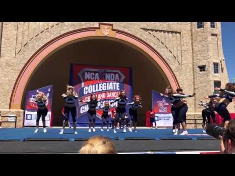 University of New Hampshire Cheerleading 2017 NCA College National Champions