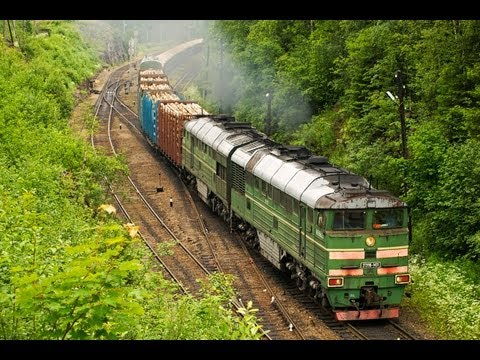 Поезда и природа Карелии / Trains and nature in Karelia (RZD, Hiitola).