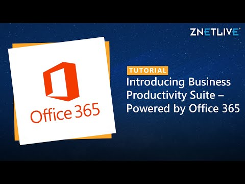 Introducing Business Productivity Suite – Powered by Office 365