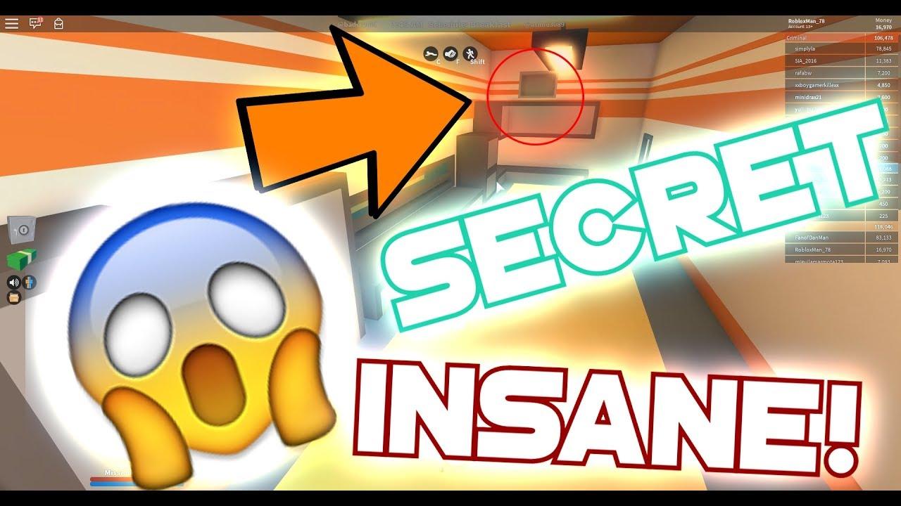 Roblox Jailbreak Insane Hidden Escape Route Most Hidden