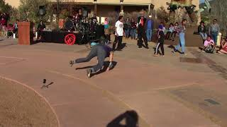 Valentino Tzigiwhaeno Rivera - Celebration Of Life | Santa Fe Break Dancers