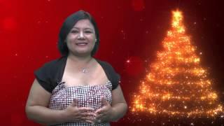 Saludo Navideño 2015 de la Asambleísta Dora Aguirre Hidalgo