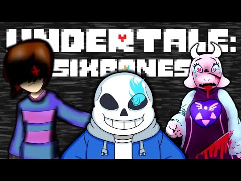THE STORY TOLD FROM SANS PERSPECTIVE!! | Undertale: SixBones