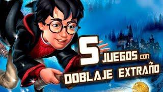 5 Juegos con Doblaje Extraño I Fedelobo
