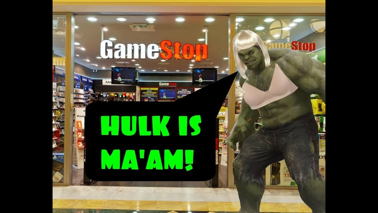 The Incredible Ma'am! At GameStop - YouTube