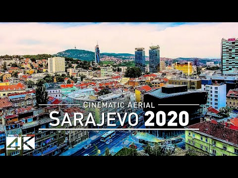 【4K】Drone Footage | SARAJEVO - Capital of Bosnia and Herzegovina 2019 ..:: Cinematic Aerial Film