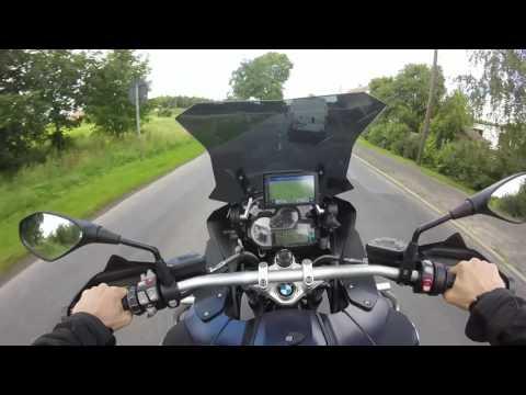 BMW GS R 1200 Adventure - Test Ride - GoPro Hero