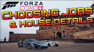 Forza Horizon 4   BREAKDOWN   New Jobs, Intelligent career mode & House function + Gameplay