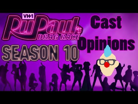 Thoughts/Opinions - The Season 10 Cast of RuPaul's Drag Race Revealed