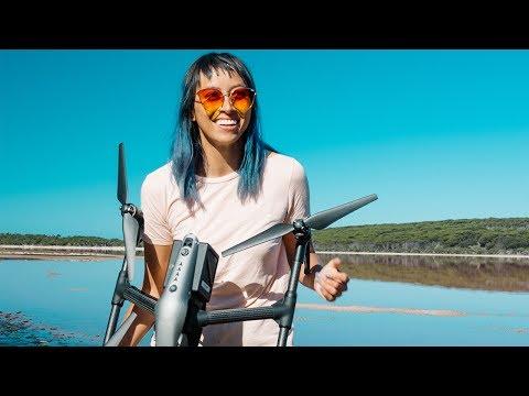 Exploring Worlds Away - with drone adventurer Renee Lusano