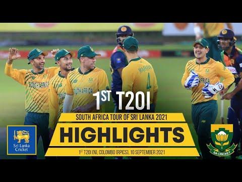 Download 1st T20I Highlights | Sri Lanka vs South Africa 2021