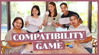 MY FAMILY PLAYS THE COMPATIBILITY GAME   Bea Alonzo