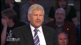 KLIPP & KLAR (RBB) gegen Udo Voigt (NPD)