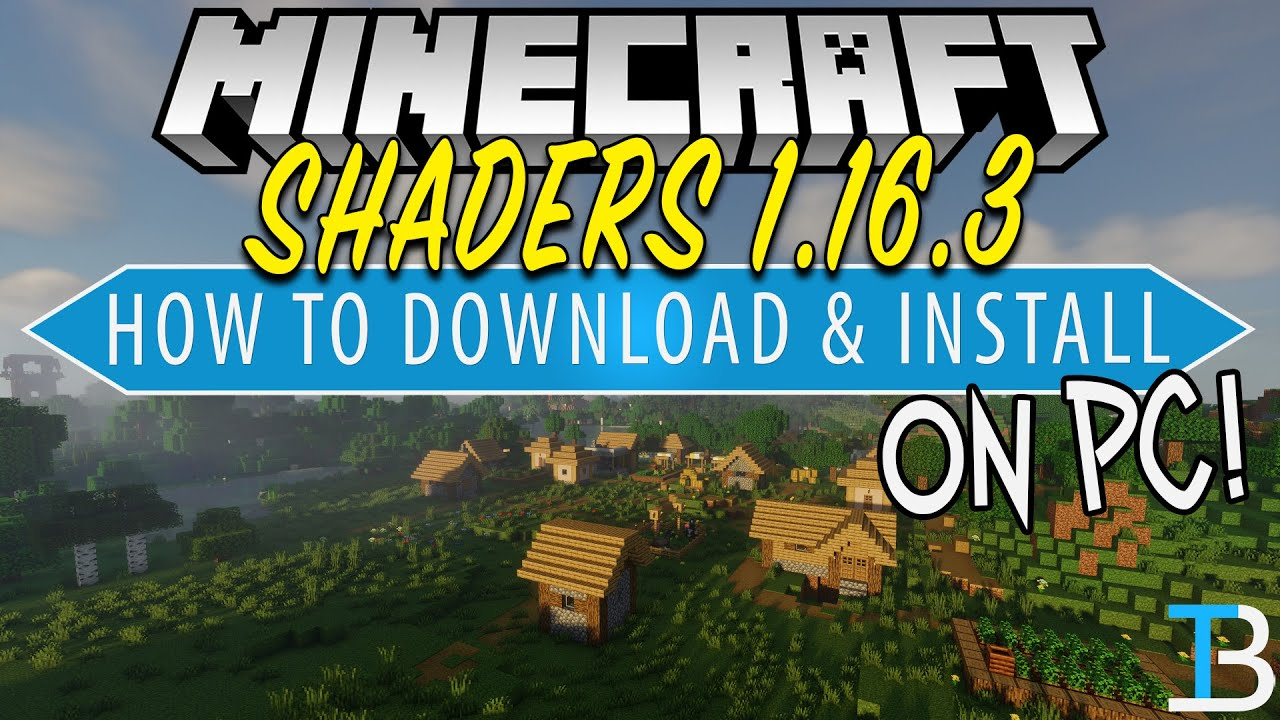 How To Download & Install Shaders in Minecraft 1.16.3 on PC (Get Shaders for 1.16.3!)
