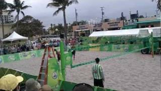 Pro Footvolley Tour - Hollywood beach, Florida