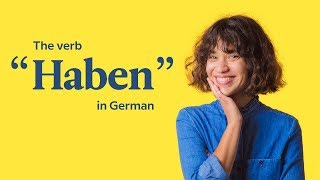 "Learn German | The Verb ""Haben"" 