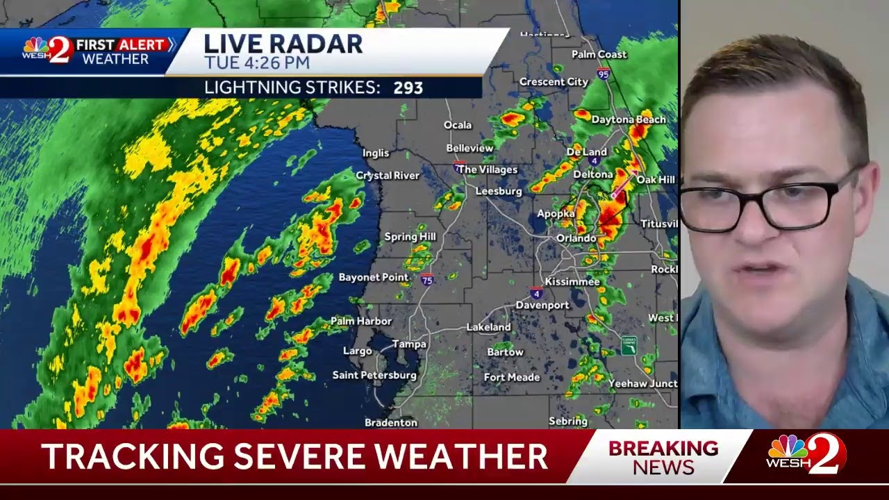 Tracking storms across Central Florida
