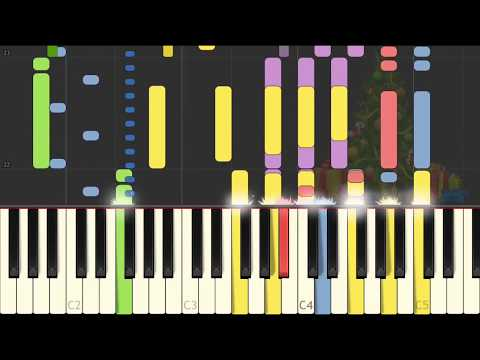 Hard Candy Christmas On Piano [SYNTHESIA]