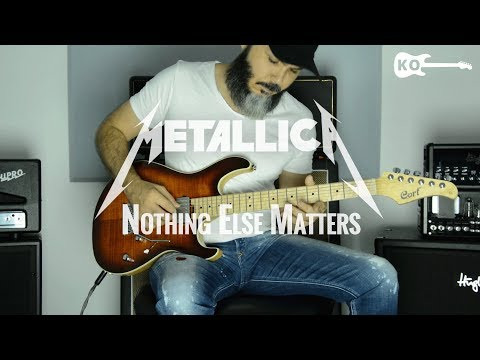 Metallica - Nothing Else Matters - Metal Guitar Cover By Kfir Ochaion