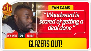 GLAZERS OUT! Manchester United 0-2 Burnley FanCam