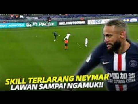 Pemain Dihancurkan Oleh NEYMAR JR Di Lapangan Hijau