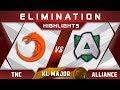 TNC vs Alliance Elimination Kuala Lumpur Major KL Major Highlights Dota 2