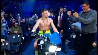 Эффектный выход Беринчика на ринг - Денис Беринчик - Хуан Окура - Большой бокс - Интер