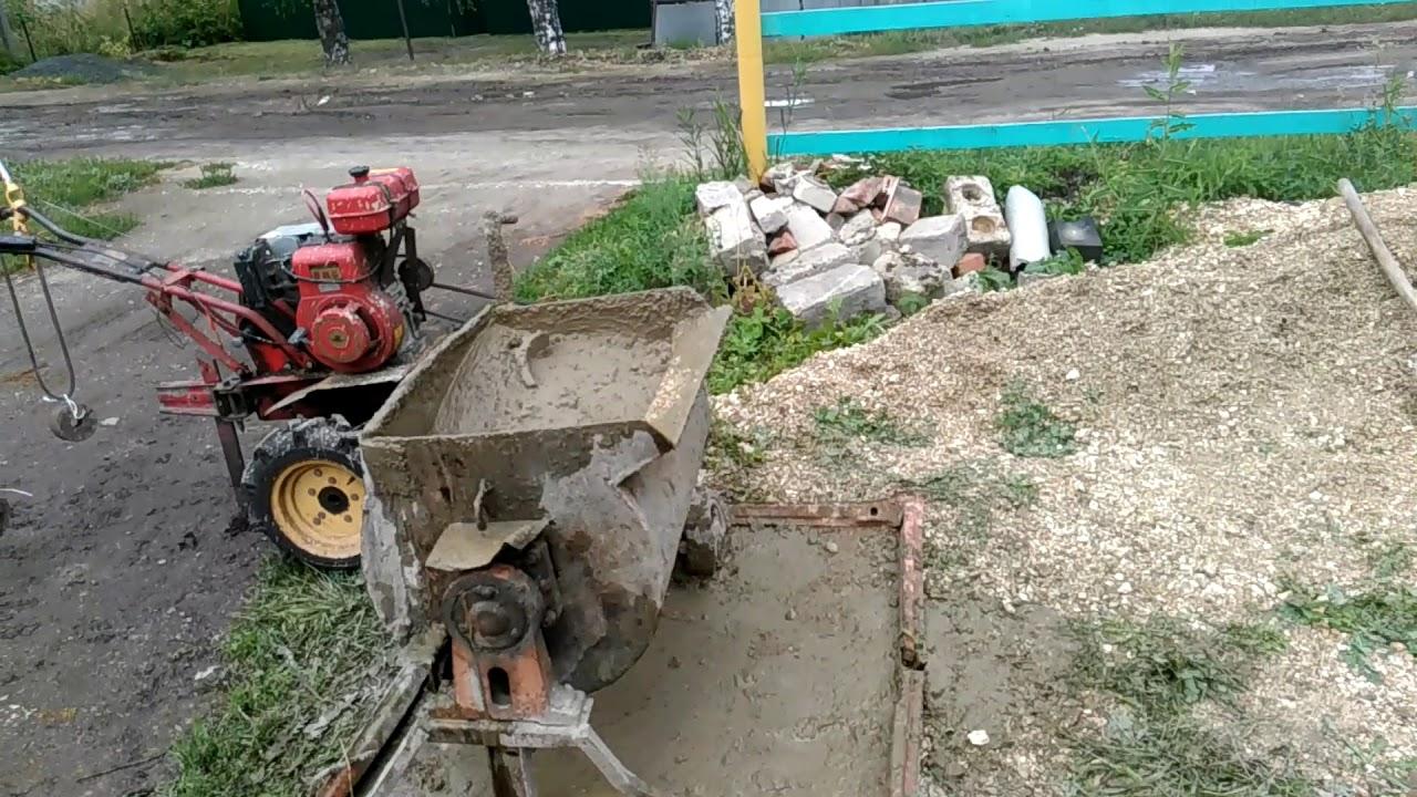 Бетон мотоблоком изделия из бетона на заказ в москве