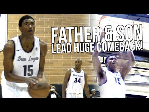 Metta World Peace & His SON Lead COMEBACK @ Drew League! Ron Artest III Plays Like Metta!