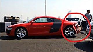 Audi R8 Accident in Mumbai | Supercars Of Mumbai | India