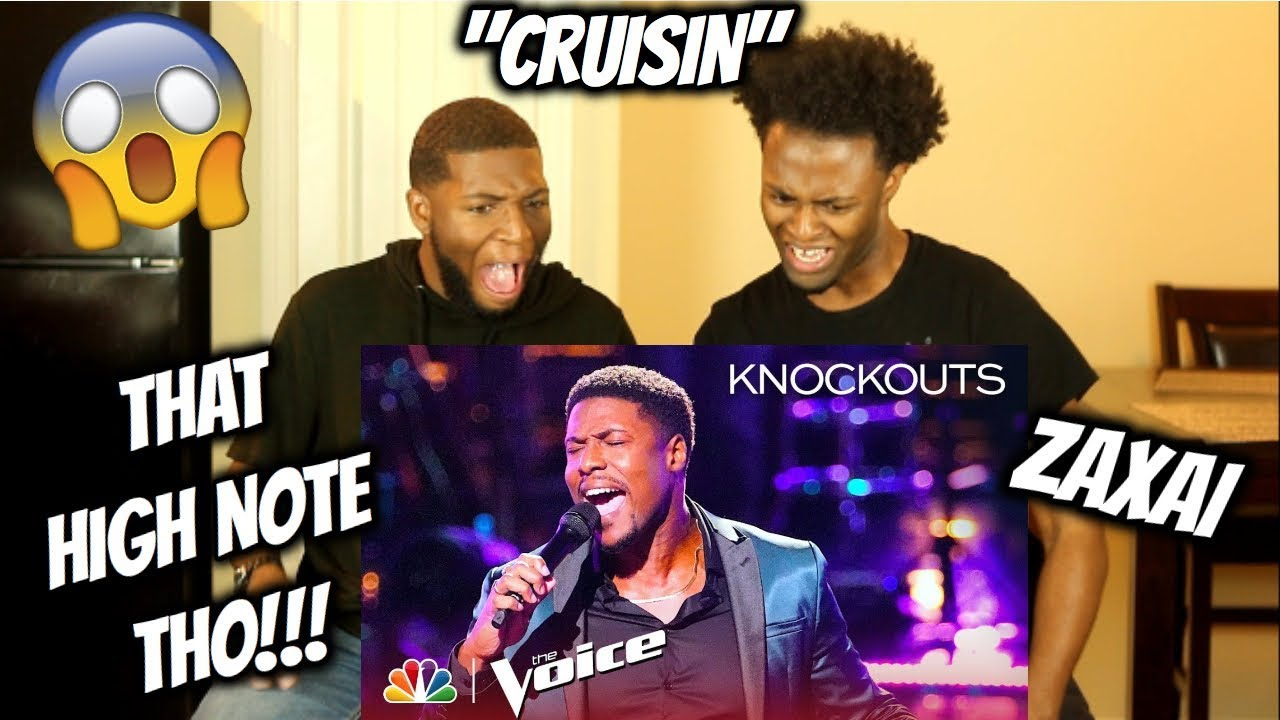 """Download Zaxai Performs an Incredible Cover of Smokey Robinson's """"Crusin'"""" - The Voice 2018 Knockouts"""