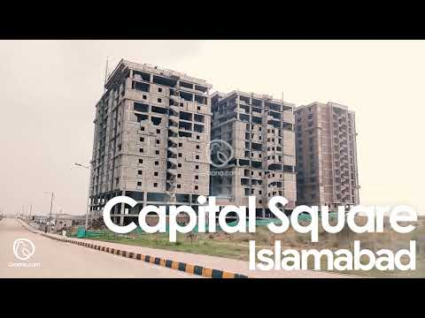 Capital Square Time-Lapse And Drone Video