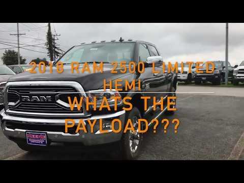 2018 RAM 2500 Hemi Payload?!?!?!?!