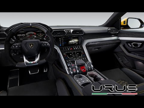 2019 Lamborghini Urus Interior / The New Super Sports Car