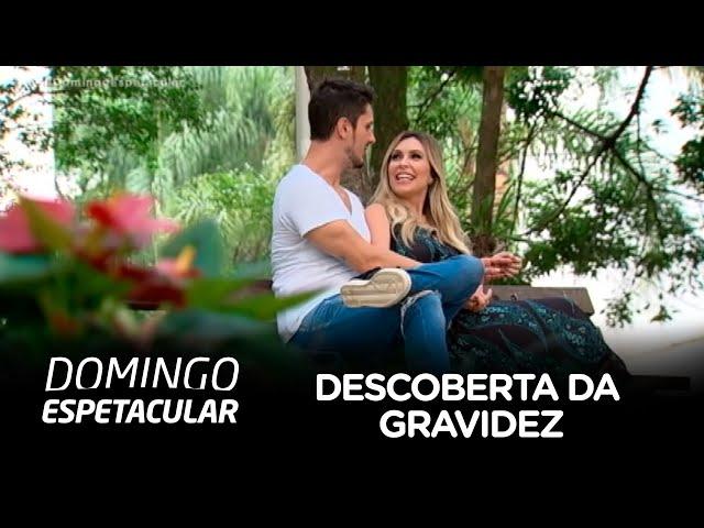 Thalita Oliveira fala sobre a descoberta da gravidez