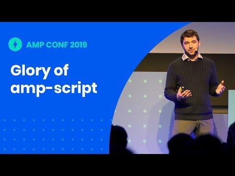 The glory of amp-script: Unleashing the kraken (AMP Conf '19)