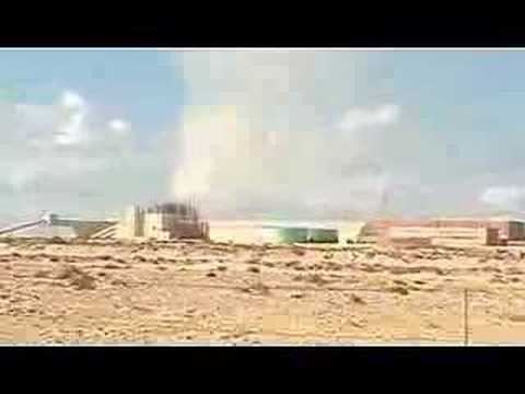 Phosphate mine in occupied Western Sahara