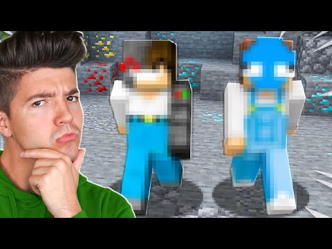 Guessing Minecraft YouTubers using ONLY Their Gameplay! *impossible*